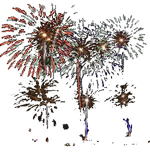 Chrome Fireworks Display Finale